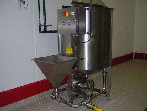 Rezervoar za pripremu salamure