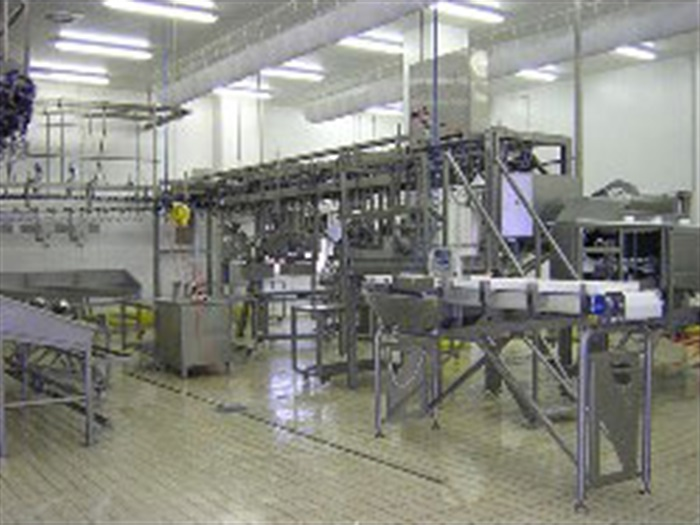 Poultry cut up systems